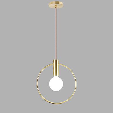 Cirkularno Privjesak Svjetla Ambient Light Electroplated Slikano završi Metal New Design 110-120V / 220-240V