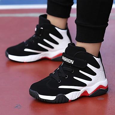 d3e5dcdb412 Αγορίστικα Παπούτσια PU Χειμώνας Ανατομικό Αθλητικά Παπούτσια Μπάσκετ για  Εφηβικό Κόκκινο / Μπλε / Μαύρο / Άσπρο