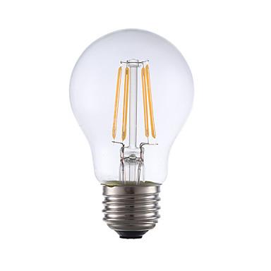 gmy a17 led edison ampoule 3.5w led équivalent à ampoule à incandescence 32w avec e26 base 2700k pour chambre salon décoratif