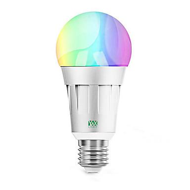 billige Elpærer-ywxlight®1pcs 7w rgb hjem belysning wifi smart lyspære app fjernkontroll smart lyspære ledet stemme lys 85-265v