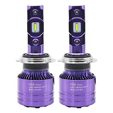 ieftine Faruri-SO.K 2pcs 9007 / H7 / H4 Mașină Becuri 50 W CSP 6000 lm 2 LED Bec Ceață / Frontală Pentru Toți Anii