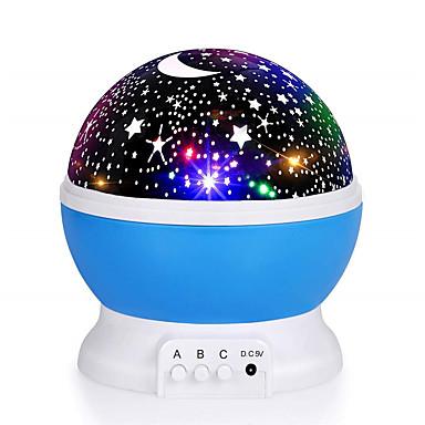 aurinko ja tähti valaistus lamppu 4 led helmi 360 asteen romanttinen huone pyörivä cosmos tähti projektori usb-kaapeli valo lamppu tähtikirkas taivas yö projektori lapsi makuuhuoneen lamppu