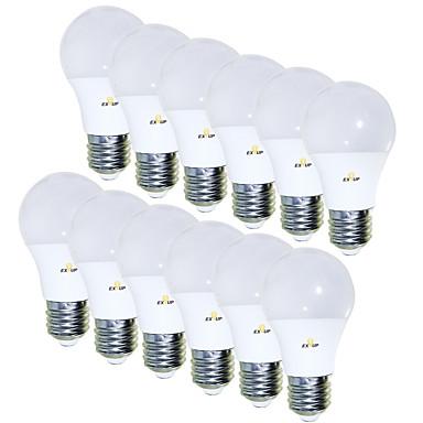 cheap LED Globe Bulbs-EXUP® 12pcs 5 W LED Globe Bulbs 450 lm E26 / E27 15 LED Beads SMD 2835 Creative Adorable 85-265 V