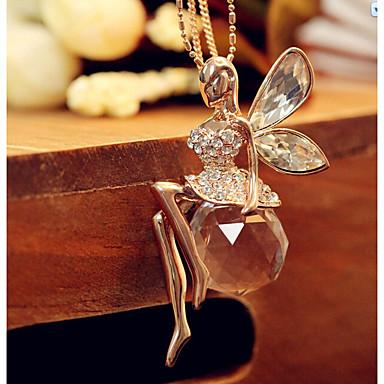 نسائي فينتاج قلادة طويلة أميرة شائع حلو محبوب ذهبي 72 cm قلادة مجوهرات 1PC من أجل مناسب للبس اليومي شارع