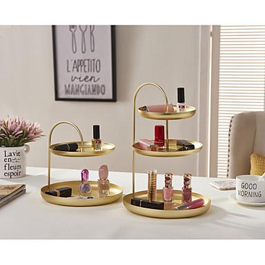 Rangements de maquillage Rangement / Multifonction / Facile à Utiliser Moderne / Antique / Basique Métal 2pcs - Accessoires / Nettoyage organisation de bain / Salle de bain