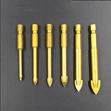 6 pcs Fúróberendezés Kényelmes Könnyű összeszerelés Hatszögfej Factory OEM 3-10mm(6PC-2) Alkalmas elektromos fúrókhoz