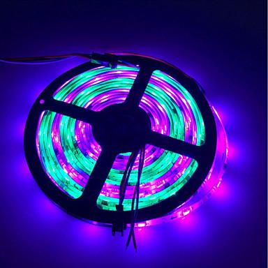 billige LED Strip Lamper-brelong fargerik smd5050 150led epoxy lysstang 5m bredde 10mm