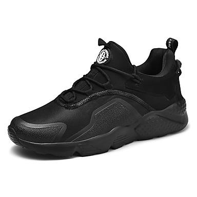 Erkek Ayakkabı Örümcek Ağı İlkbahar yaz / Sonbahar Kış Günlük Atletik Ayakkabılar Koşu / Fitnes Çalışması Günlük / Dış mekan için Siyah / Beyaz / Kırmzı