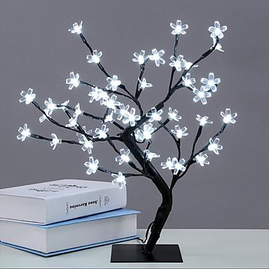 brelong simulation 48led bureau cerisier branche décoration atmosphère lampe us 1 pc
