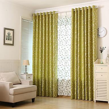 Paese Vita Privata Due Pannelli Sala Studio - Ufficio Curtains - Ricami #07130814