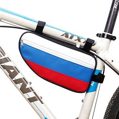 abordables Sacoches de Vélo-B-SOUL 2 L Sac Cadre Velo Sac à armature triangulaire Portable Vestimentaire Durable Sac de Vélo Térylène Sac de Cyclisme Sacoche de Vélo Cyclisme Activités Extérieures Vélo Cyclisme