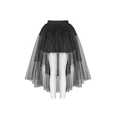 862a893936c4 Plague Doctor Gothic Lolita 1950s Steampunk Costume Women's Skirt Tutu  Under Skirt Crinoline Black Vintage Cosplay