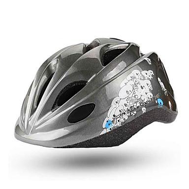 abordables Casques de Cyclisme-BAT FOX Enfant Casque de vélo 15 Aération CE Résistant aux impacts Intégralement moulé Ventilation EPS PC Des sports Vélo de Route Vélo tout terrain / VTT Activités Extérieures - Gris Garçon Fille