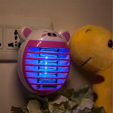 brelong® 1pc johti yön valo violetti AC powered sarjakuva eu hyönteisten hyttynen lentää tappaja 100-240 v
