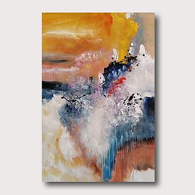 Hang-dipinto Ad Olio Dipinta A Mano - Astratto Contemporaneo Modern Include Interno Della Montatura #07196853 Un Arricchimento E Nutriente Per Il Fegato E Il Rene