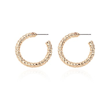 Γυναικεία Γεωμετρική Κουμπωτά Σκουλαρίκια Σκουλαρίκια Απλός Geometric  Κοσμήματα Χρυσό Για Γενέθλια Δώρο Καθημερινά Δουλειά 1 Pair 0cd880ba33d