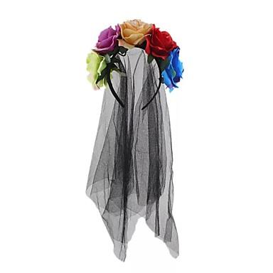 abordables Coiffes-Molleton / Filet Bandeaux / Décorations / Chapeau avec Pendentif / Fleur 1 Pièce Mariage / Occasion spéciale Casque
