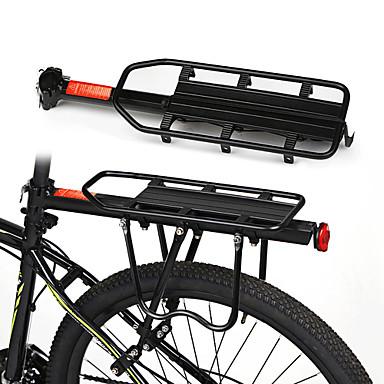 billige Sykkeltilbehør-Bike Cargo Rack Bakre rack Justerbare Enkel å installere Fort Frigjøring Legering Vei Sykkel Fjellsykkel - Svart