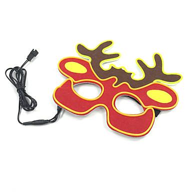 voordelige Feestbenodigdheden-Masker Kunststoffen 1 Festival