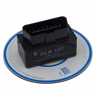 povoljno OBD-elm 327 v2.1 obdii mini bluetooth obd2 dijagnostički auto za android obd 2 čitač koda