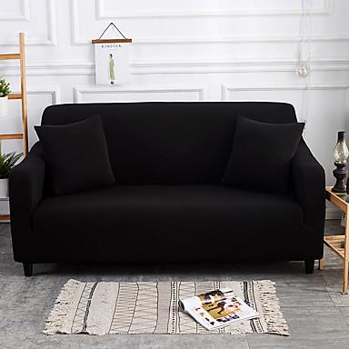 رخيصةأون غطاء-غطاء أريكة لون سادة / متعدد اللون الصباغ طباعة بوليستر / قطن خليط الأغلفة