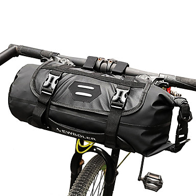 abordables Sacoches de Vélo-ROSWHEEL 3-7 L Sacoche de Guidon de Vélo Ajustable Etanche Compact Sac de Vélo TPU Sac de Cyclisme Sacoche de Vélo Cyclisme / Bandes Réfléchissantes