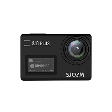 voordelige Automatisch Electronica-SJCAM SJCAM SJ8PLUS 2160p Mini Auto DVR 170 graden Wijde hoek 12 MP 2.33 inch(es) TFT LCD-monitor / Capacitief scherm / IPS Dash Cam met WIFI / Bewegingsdetectie / Continu-opname Neen Autorecorder