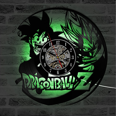 3d yaratıcı dragon ball kayıt duvar saati