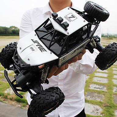 halpa Kopterit ja radio-ohjattavat-RC Car 6191 4CH 2,4G Matkalla / Auto (tieajoon) / Maastoauto 1:16 Nitro 10 km/h Lapset / nuoret / Langaton / Youth