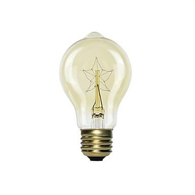 1pc 40 W E26 / E27 צהוב ליטוש וינטג 'אדיסון Light Bulb 220-240 V