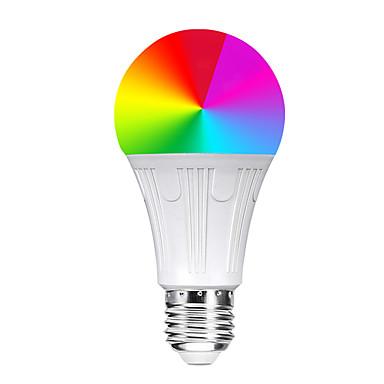 abordables Ampoules électriques-YWXLIGHT® 1pc 11 W Ampoules Globe LED Ampoules LED Intelligentes 800-900 lm E26 / E27 14 Perles LED SMD 5730 Contrôle de l'APP Elégant Chronométrage RVB 85-265 V / Intensité Réglable