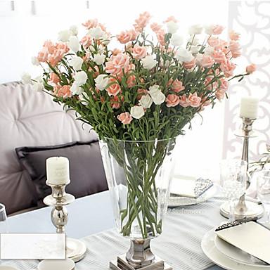 Keinotekoinen Flowers 1 haara Klassinen Eurooppalainen Ruusut Eternal Flowers Pöytäkukka