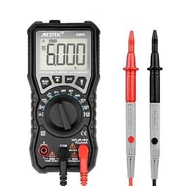 cheap Test, Measure & Inspection Equipment-MESTEK DM90 Mini True RMSDigital Multimeter Auto Range Tester Multimetre Better Than PM18C 6000 Counts Display VFC Test and NCV Test