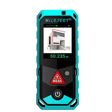 voordelige Waterpasinstrumenten-mileseey p7 80m bluetooth laser-afstandsmeter met roterend aanraakscherm oplaadbare lasermeter