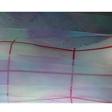 Tylli Yhtenäinen Pinnoittaa 75 cm leveys kangas varten Morsius myyty mukaan mittari