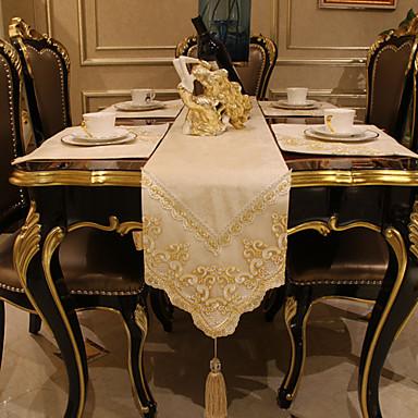 moderne non tiss carr chemins de table d corations de. Black Bedroom Furniture Sets. Home Design Ideas
