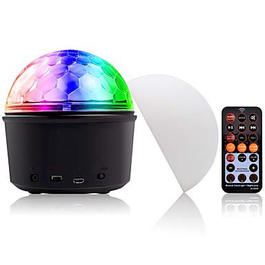 YouOKLight 1 szt. 9 W 540 lm 9 Koraliki LED Głośnik Bluetooth Pilot zdalnego sterowania Przygaszanie Oświetlenie LED sceniczne Zmiana 5 V Komercyjny Dom / biuro Pokój dziecięcy
