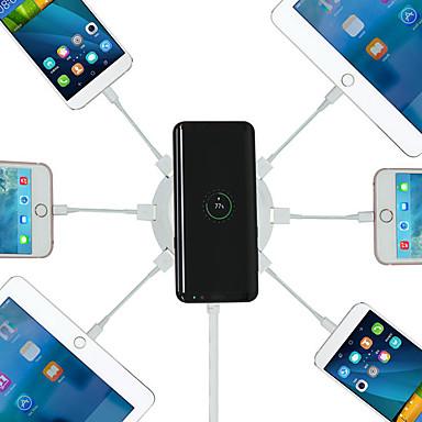 voordelige Automatisch Electronica-bakeey 6 poorten 4.2a qi standaard draadloze autolader met led-indicator voor iphone x 8 8plus samsung s8 note 8