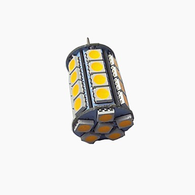 billige Elpærer-1pc 3 W LED-lamper med G-sokkel 320 lm G4 30 LED perler SMD 5050
