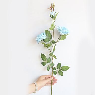 Искусственные Цветы 2 Филиал Классический Современный современный Pастений Вечные цветы Букеты на пол