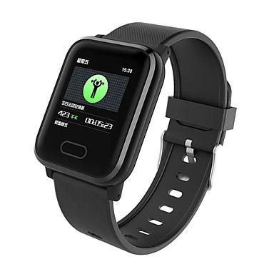 halpa Älykellot-DS120 Miehet Smartwatch Android iOS Bluetooth Vedenkestävä Kosketusnäyttö Sykemittari Verenpaineen mittaus Urheilu EKG + PPG Askelmittari Puhelumuistutus Activity Tracker Sleep Tracker