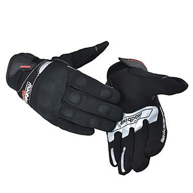 Madbike Pisin sormi Unisex Moottoripyörän käsineet Poly / Net Fabric / nylon PVA Kosketusnäyttö / Hengittävä / Kulutuksen kestävä