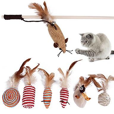 0bd60aa830f0 Σύνολα Χνουδωτά Παιχνίδια Φιλικό προς τα Κατοικίδια Άλλο Υλικό Για Γάτες