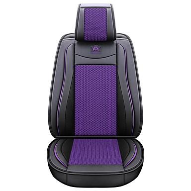 voordelige Auto-interieur accessoires-zakelijke voor achter universele universele stoelhoezen kussen kits luxe voertuigen accessoires voor universele / polyester / kunstleer / katoen