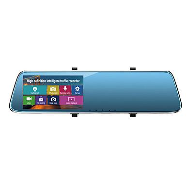 voordelige Automatisch Electronica-1080p Auto DVR Wijde hoek 4.3 inch(es) LTPS Dash Cam met Continu-opname / Ingebouwde Microfoon / Loop-cycle opname Autorecorder