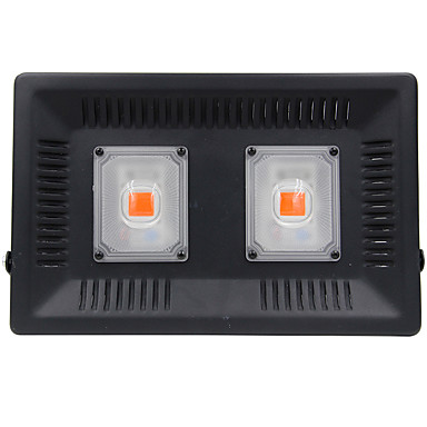 1kpl 100 W 4000-4500 lm 2 LED-helmet Täysspektri Kasvava valaisin Punainen RGB + valkoinen 110 V