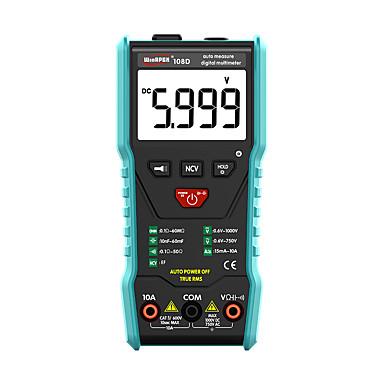 voordelige Test-, meet- & inspectieapparatuur-pocket digitale multimeter 6000counts ture-rms automatische herkenning volgens meetvereisten