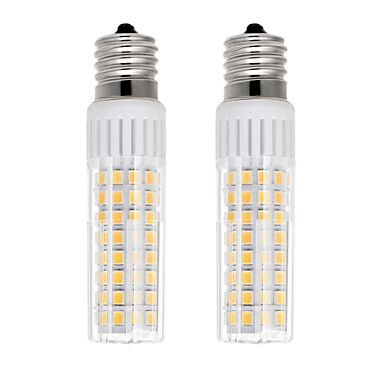 billige Elpærer-2pcs 7.5 W LED-kornpærer 937 lm E17 T 100 LED perler SMD 2835 Varm hvit Kjølig hvit 85-265 V