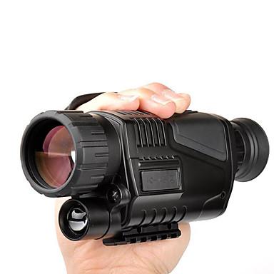 billige Kikkerter og teleskop-LUXUN® 5 X 40 mm Monokulær Objektiver Vanntett Høy definisjon Anti-Skli BAK4 Jakt Oppvisning Camping PP+ABS / Fuglekikking / Nattsyn