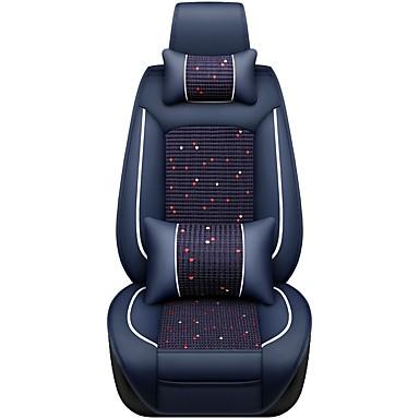 voordelige Auto-interieur accessoires-Auto-stoelhoezen Hoofdsteun en taille kussensets Koffie / Rood / Blauw Sieni / Polyesteri / Niet geweven Zakelijk Voor Universeel / GM